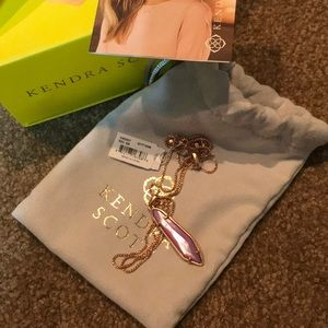 *BRAND NEW WITH GIFT BOX* lilac Cassidy necklace